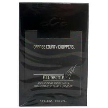 Orange County Choppers Full Throttle EDT Spray Cologne 1.0 Oz