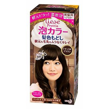 Kao , Liese Prettia AWA Hair Color KAMI IRO MODOSHI , Natural Brown