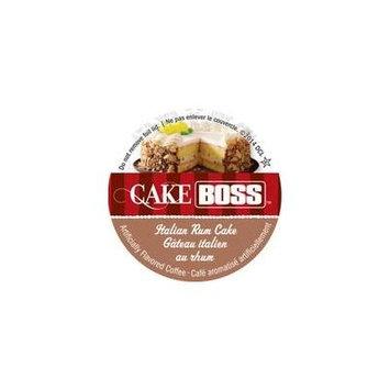 Cake Boss Coffee - Italian Rum Cake - 48 Single Serve K Cups for Keurig Brewers