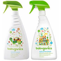 Babyganics Tub and Tile Cleaner with Multi-Purpose Surface Cleaner