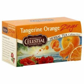 Celestial Seasonings Herb Tea Tangerine Orange Zinger, 20-count (Pack of6)