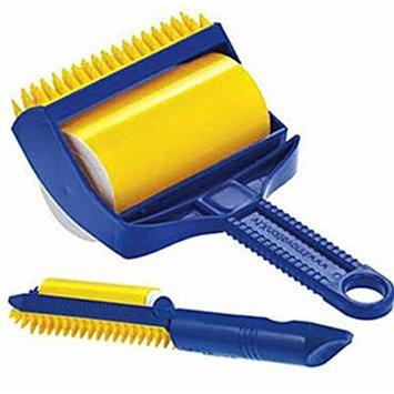 2pcs/lot Reusable Sticky Buddy Picker Cleaner Lint Roller Pet Hair Remover Brush