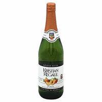 Kristian Regale Sparkling Beverages, Peach, 25.4-ounce Bottles