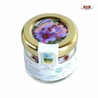 Organic Italian Saffron Glass Jar 0.5 Gram