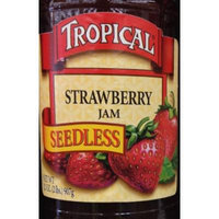 32oz Tropical Strawberry Jam Seedless, No Preservatives, No Artificial Coloring, No Artificial Flavorings