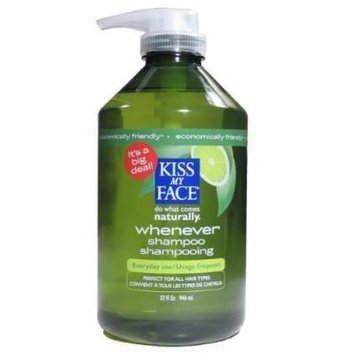 Kiss My Face Whenever Shampoo, Value Size, 32 Ounce