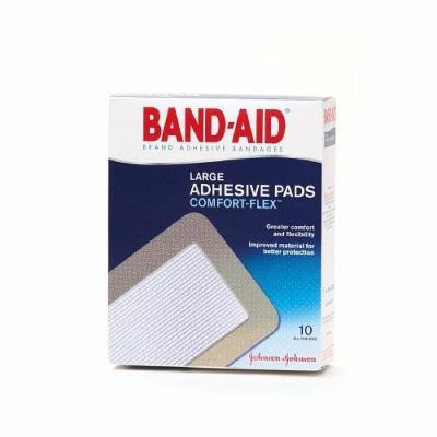 Band-Aid Adhesive Pads Comfort Flex Adhesive Pads, Large 10 ea Pack of 3
