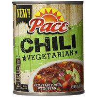Pace Chili, Vegetarian, 14.5 Ounce (Pack of 12)