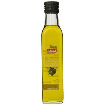 Badia Olive Oil Extra Virgen, 8.5 Ounce (Pack of 12)