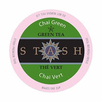 Stash Tea, Chai Green Tea Single-Cup Tea, 24 Count