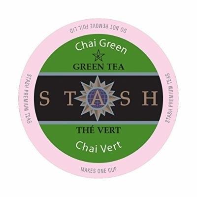 Stash Tea, Chai Green Tea Single-Cup Tea, 24 Count
