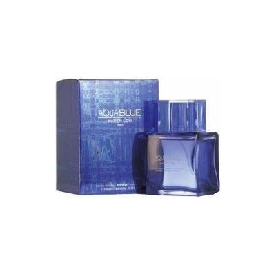 Aqua Blue Cologne By Karen Low for Men 3.4 Oz Eau De Toilette Spray