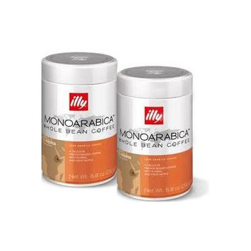 illy Ethiopian 8.8 Ounce Whole Bean Coffee (2 Pack) 7881