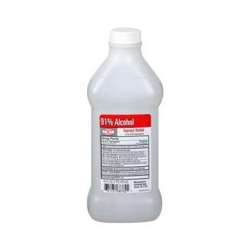 Isopropyl Rubbing Alcohol 91% One Bottle of 16 Fl oz (1)