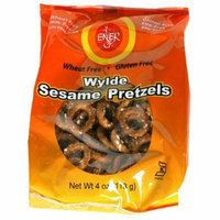ENER-G FOODS , Pretzel-Wylde Sesame - 4oz [Gluten Free] [1 Pack]