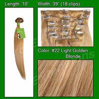 #22 Medium Blonde - 10 inch