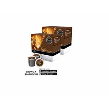 Tully's Decaf French Roast Coffee 180 K-Cup Packs