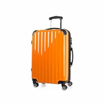 CAMBRIDGE Travel Bag Trunk Luggage Carrier PC+ABS Double Wheel TSA LOCK 20