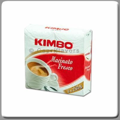 Kimbo Macinato Fresco 8.8 Oz (250g) Brick (Pack of 2)