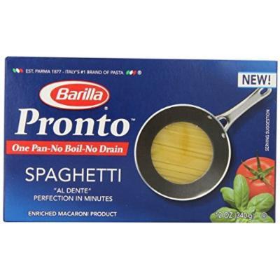 Barilla Pronto Spaghetti 12 Oz ( 3 Pack)