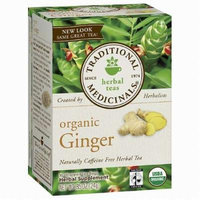 Traditional Medicinals Caffeine Free Organic Herbal Tea, Ginger 16 ea