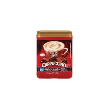 Hills Bros Sugar-Free Double Mocha Cappuccino, 12 oz(Pack of 4)