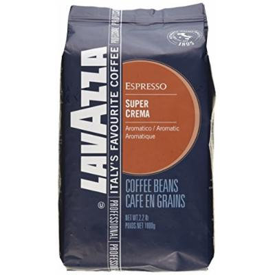 Lavazza Super Crema Espresso - Whole Bean Coffee, 2.2-Pound Bag 2 Pack (Packaging May Vary)
