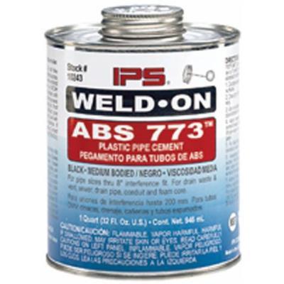 EZ-FLO 86226 Abs Cement-Black Medium Body