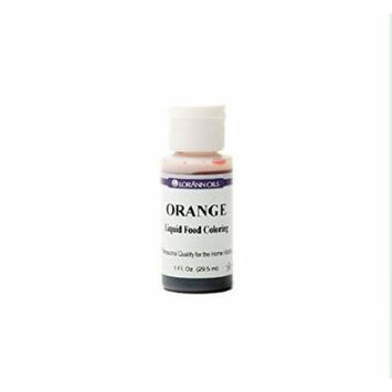 Lorann Oils Liquid Food Color, 1-Ounce, Orange