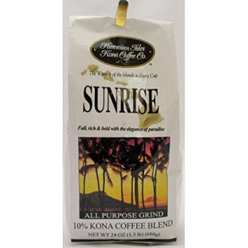 Hawaiian Isles Kona Coffee (Kona Sunrise, 24 oz.)
