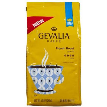 Gevalia Premium French Roast Ground Coffee-12 oz