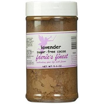 Faeries Finest Sugar-Free Cocoa, Lavender, 5 Ounce