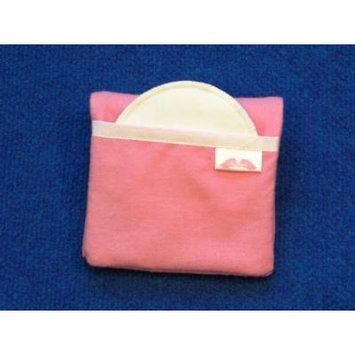 NuAngel Flip and Go Nursing Pad Case - Pink - Made in U.S.A.