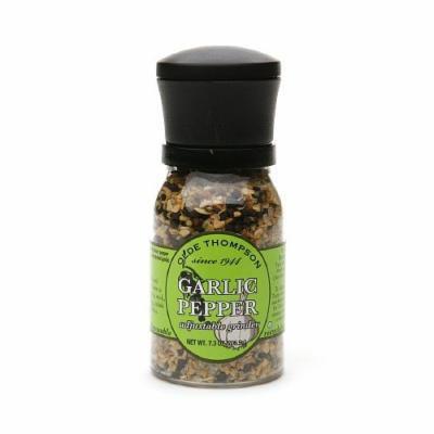 Olde Thompson Adjustable Grinder, Garlic Pepper 7.3 oz (2 Pk)