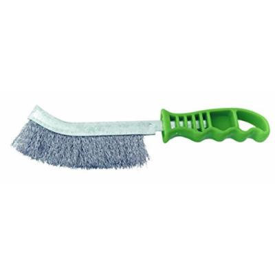 Shark 14141 Green Handle Scratch Brush Stainless Steel Wire
