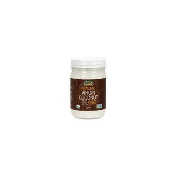 NOW Foods Organic Virgin Coconut Oil, 12 oz