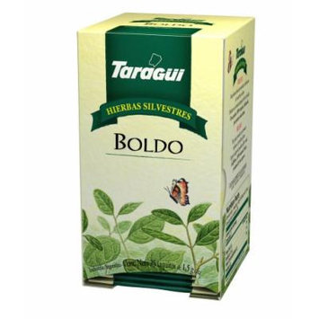 Taragui - Herbal Line Herbal Tea, Boldo, 25-Count (Pack of 8)