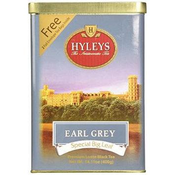 HYLEYS Tea Earl Grey Tea, 14.11 Ounce
