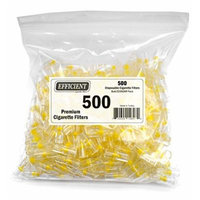Efficient Disposable Cigarette Filters - Bulk Economy Pack (500 Per Pack)