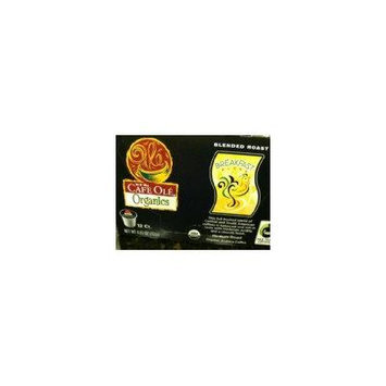 H.E.B Cafe Ole Blended Roast Breakfast Blend 12 ct. k cup (Pack of 2)