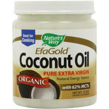 Nature's Way Organic Coconut Oil, 96 ounce Size