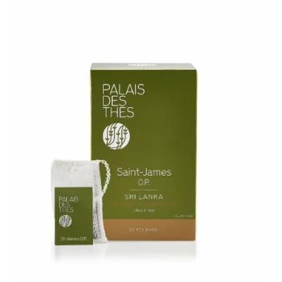 Palais des Thés Saint-James O.P. Black Tea, 20 Tea Bags (40g/1.4oz)