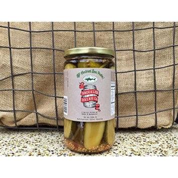 Brooklyn Brine Off-Centered Beer Pickles (24 oz)