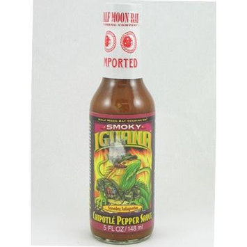 Iguana Smokey Chipotle Pepper Sauce 5oz (Pack of 3)