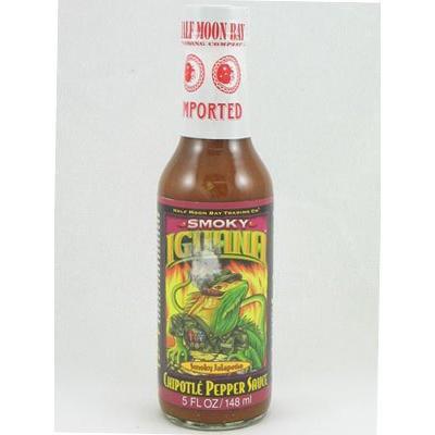 Iguana Smokey Chipotle Pepper Sauce 5oz (Pack of 3)