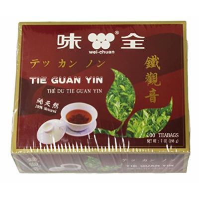 Wei Chuan Tie Guan Yin Tea (100 teabags)