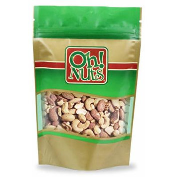Mixed Nuts Roasted Unsalted (5 Pound Bag) - Oh! Nuts