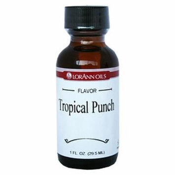 LorAnn Oils Flavorings and Essential Oils, Tropical Punch, 1 Ounce (Pack of 6)