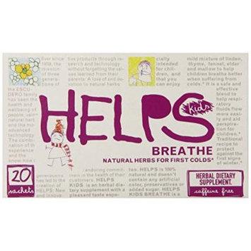 Helps Kids Herbal Teas, Breathe, 20 Count (Pack of 6)