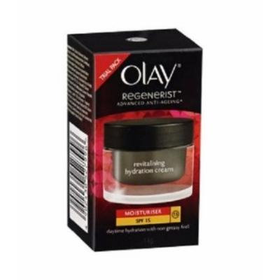 Olay Regenerist Advanced Anti-Aging Revitalising Hydration Moisturiser BROAD SPECTRUM SPF 15 (Net wt. 0.5 Oz or 14 ml.)